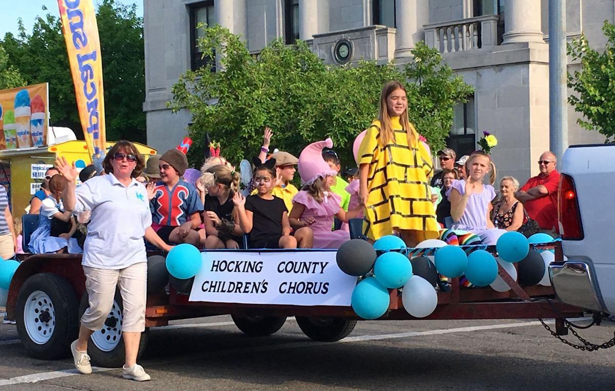 HCCC float in Bicentennial Parade